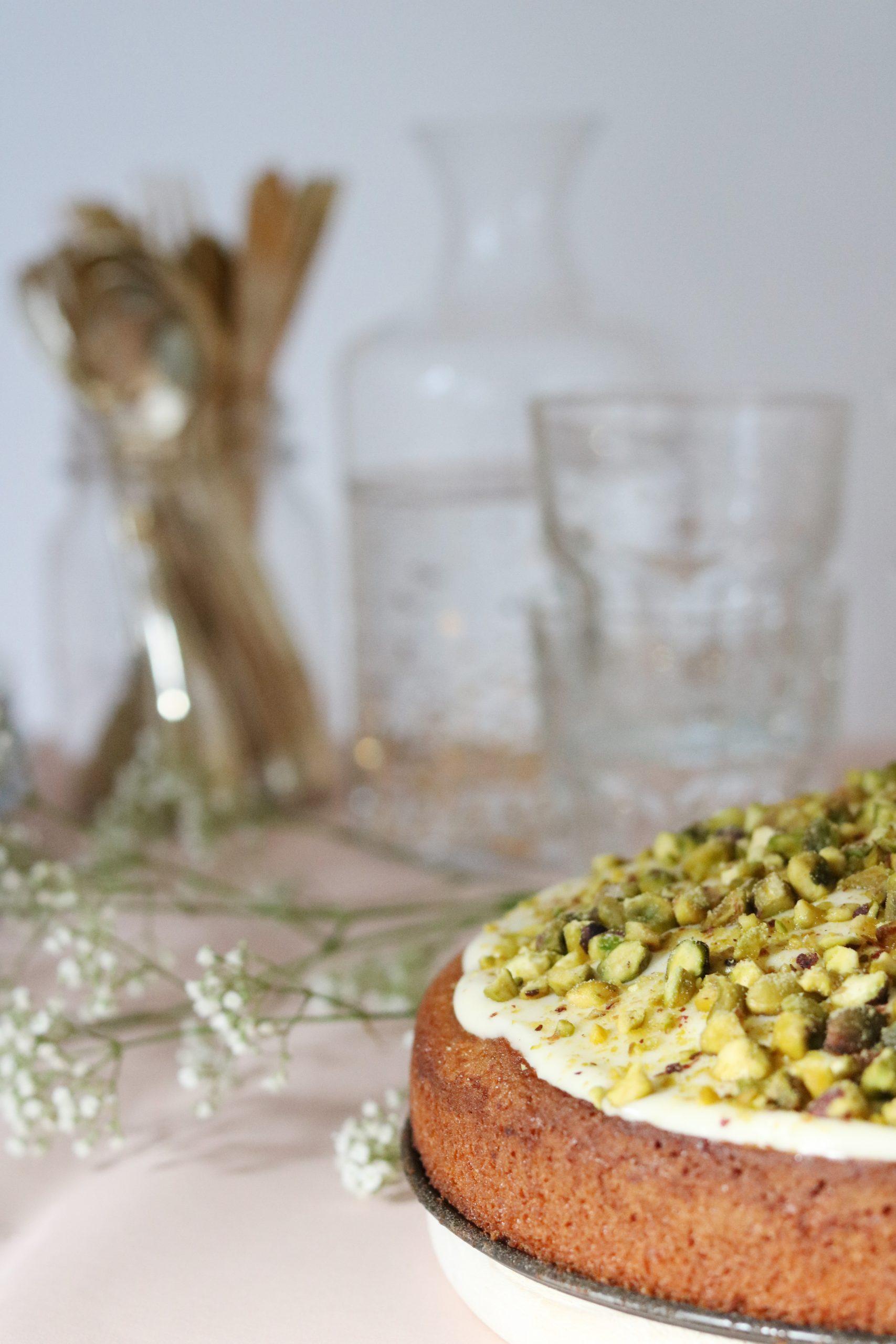 Limoen-Pistache Cake