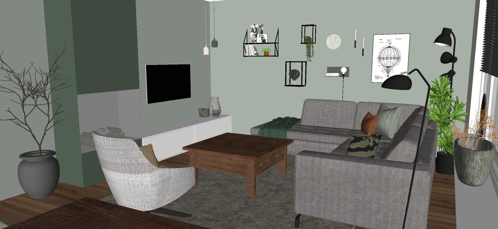 Interieuradvies appartement